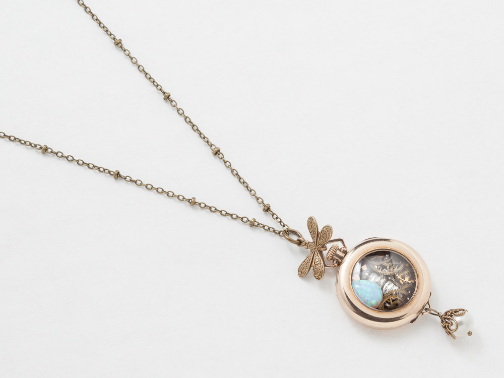 Old Fashioned Locket Necklace