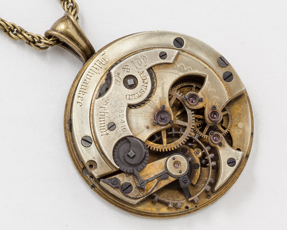 rose victorian products era pocket watch diamond cut john olivier lockets