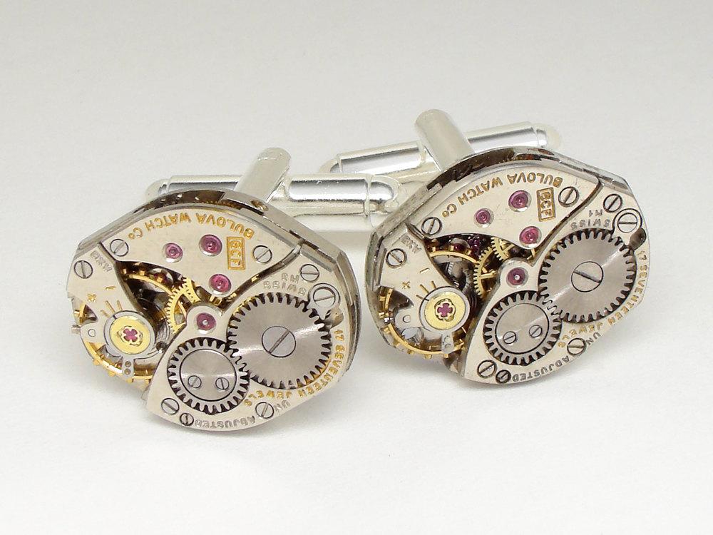 Cufflinks Steampunk Antique