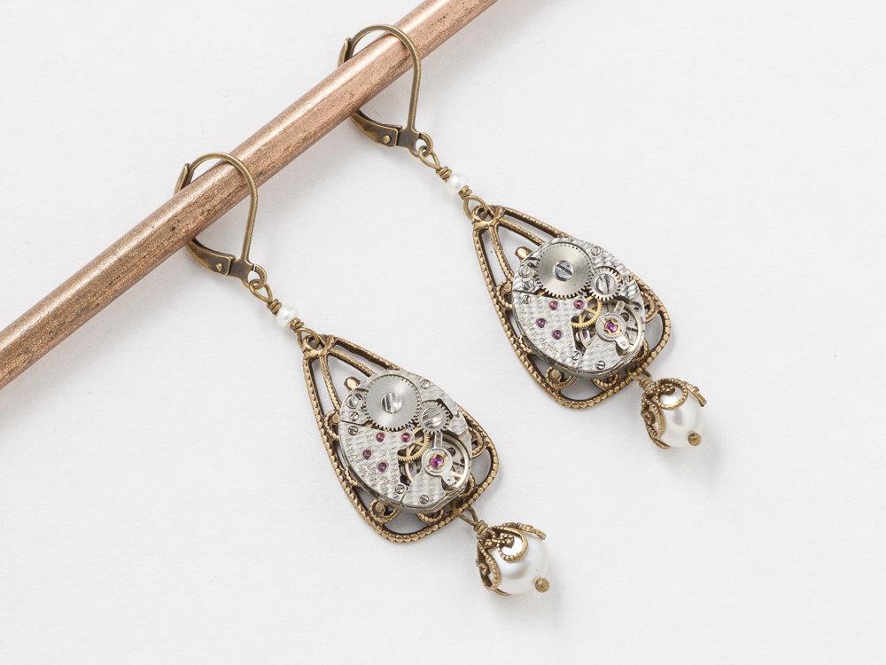 Victorian Steampunk Earrings